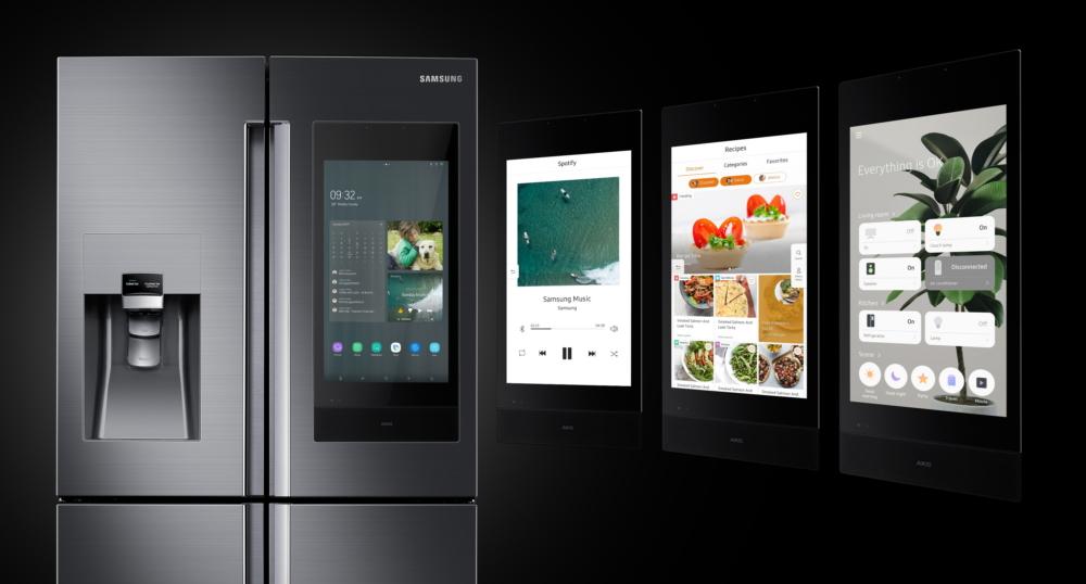 Samsung Family Hub Refrigerator - CES 2019