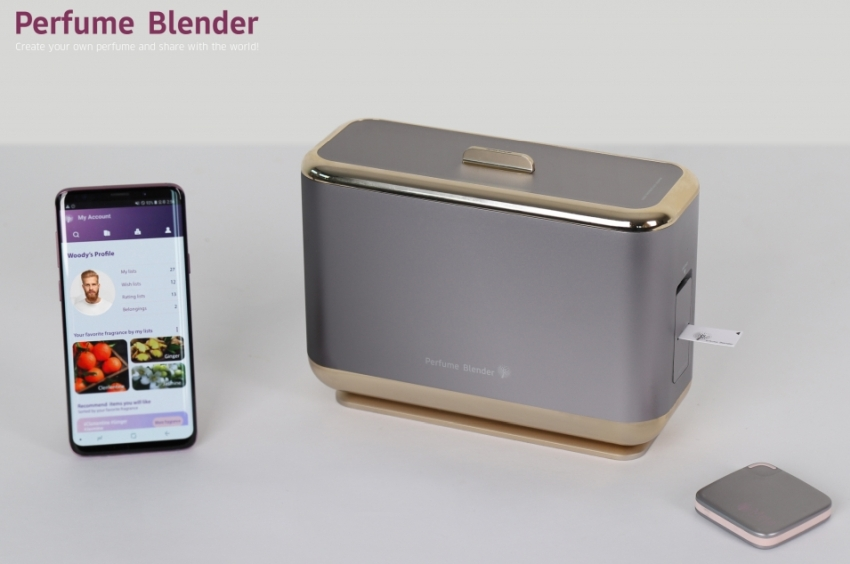 Samsung Perfume Blender - CES 2019