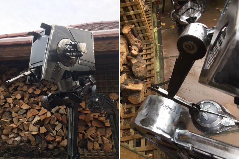 ATST Outdoor Wood Burner by Burned by Design