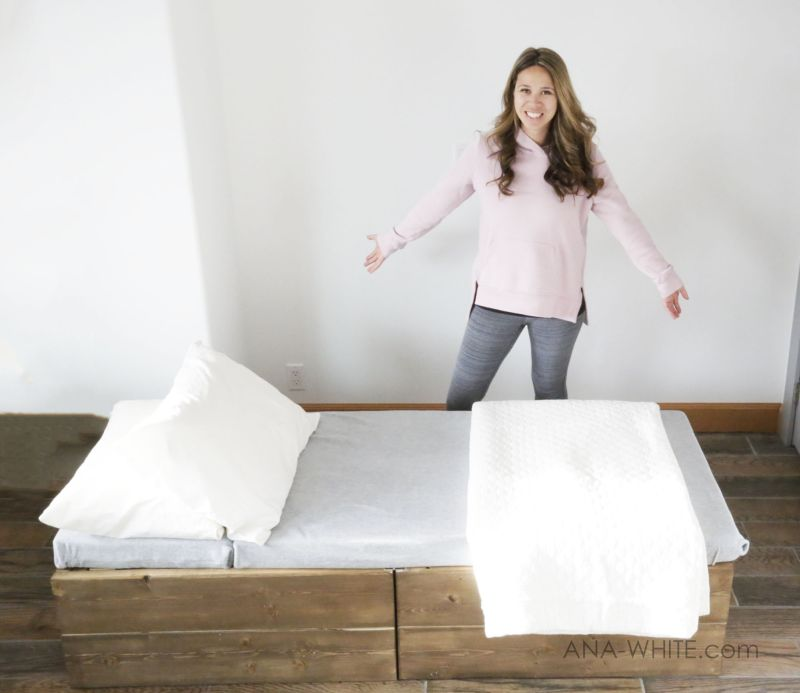 Ana White's DIY Sleeper Chair