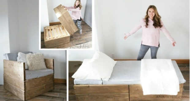 Ana White's DIY Sleeper Chair