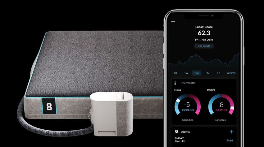 Eight Sleep's New Smart Bed Improves Sleep by Maintaining Temperature All Night Long