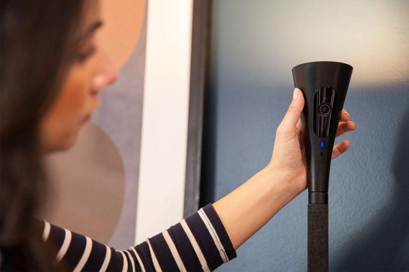 Panasonic's HomeHawk FLOOR Lamp doubles as Home Security Camera