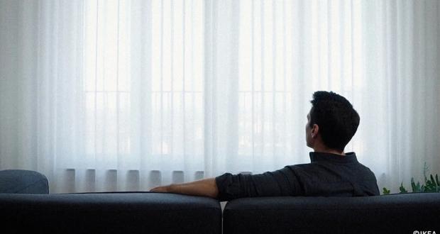 IKEA Gunrid Air Purifying Curtain Cleanse Air Indoors