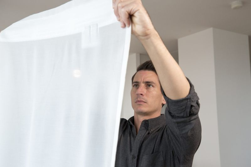 Ikea's Gunrid Air-Purifying Curtain to Launch Next Year