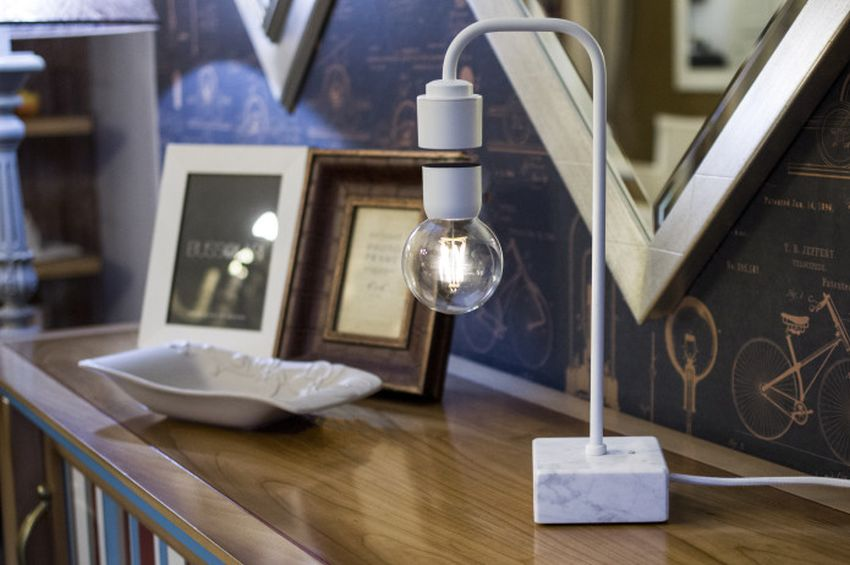 Levia Levitating Table Lamp by Idea3Di