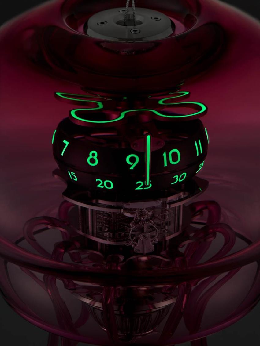 MB&F Medusa Clock by L'Epée