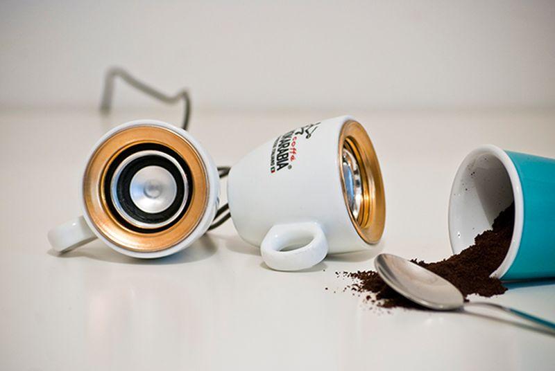 MOKA Coffee Cup Speaker by Alessandro Valenti