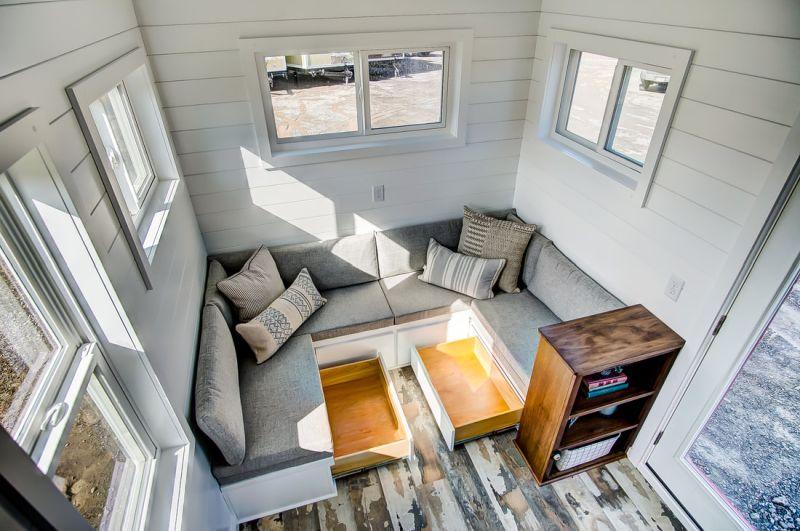 Manteo Tiny House on Wheels by Modern Tiny Living