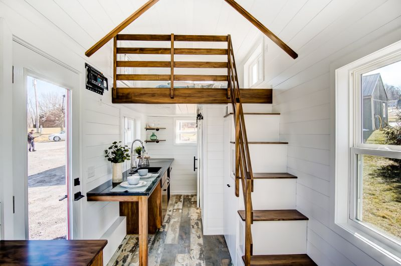 Manteo Tiny House on Wheels by Modern Tiny Living
