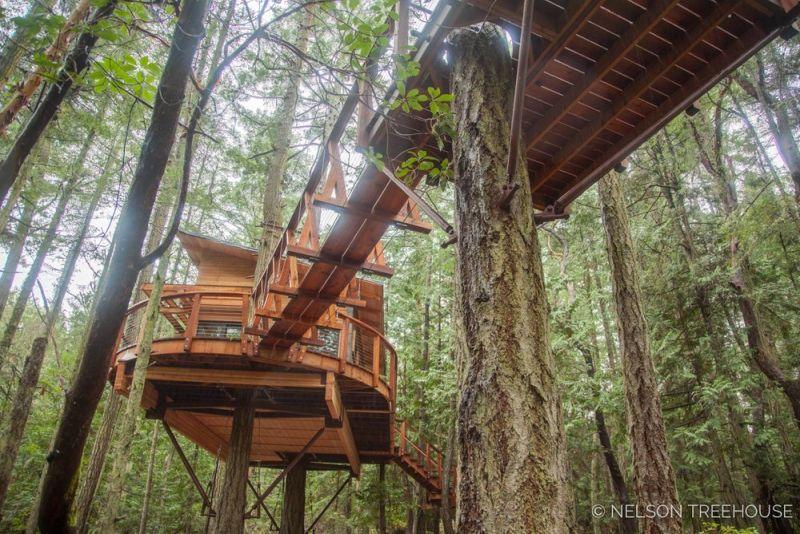 treehouse in San Juan Islands