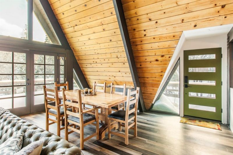 A-Frame House Up for Sale in Lake Arrowhead, California
