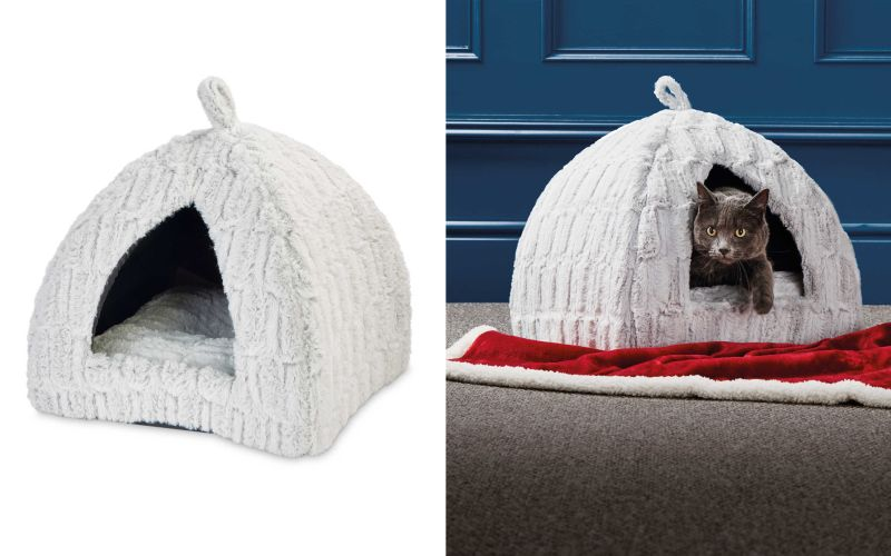 Aldi Igloo cat bed
