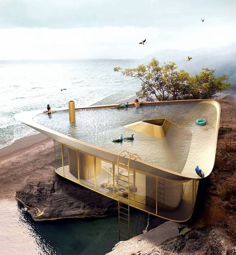 Anti Reality's Summerhouse with Unique Rooftop Pool