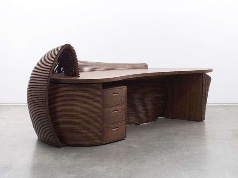 Bae Se Hwa's Steam Bent Furniture Series at R & Company Art gallery in New York