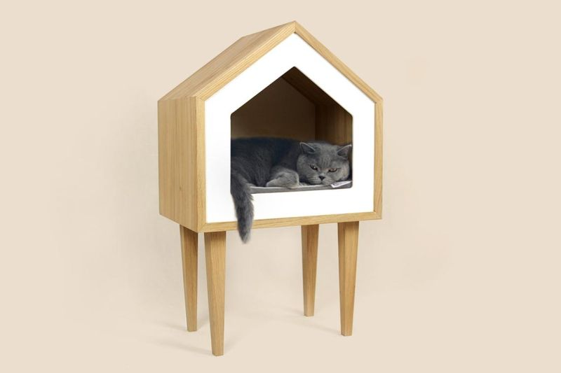 Adorable Catville Cat House by Catlaboo Fits into Any Home Decor