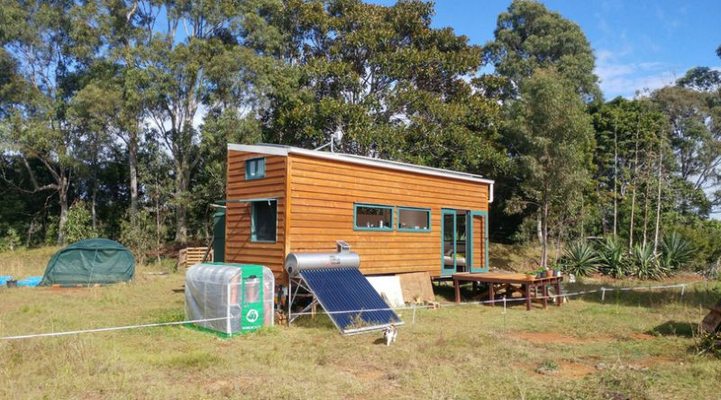 Couple Builds Self-Sufficient Tiny House on Wheels