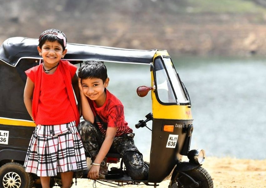 DIYer Dad Builds Mini Auto-Rickshaw for His Kids