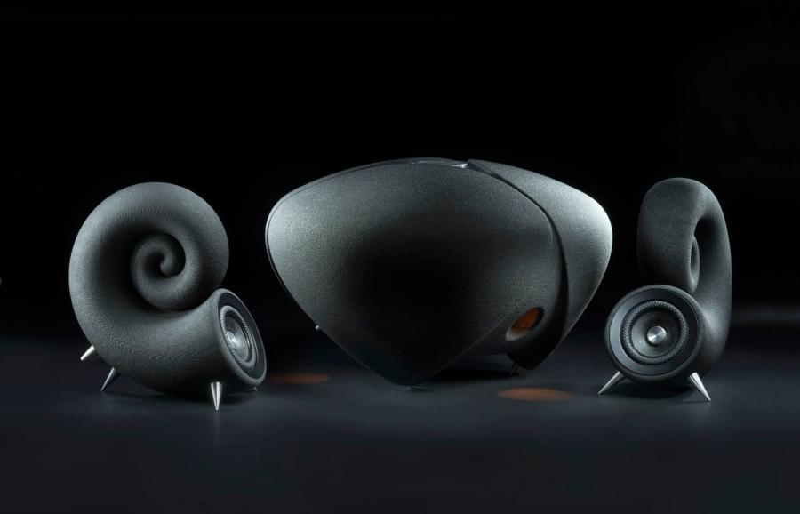 Deeptime Spirula Speakers - 3D Printed