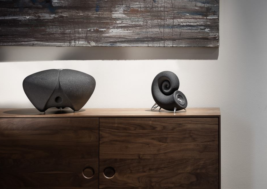 Deeptime Spirula Speakers and Thunderstone Subwoofer - 3D Printed