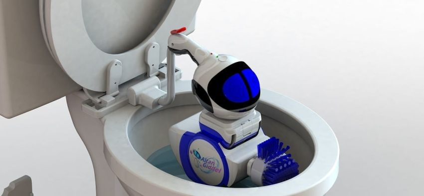 Giddel-Toilet-Cleaning-Robot