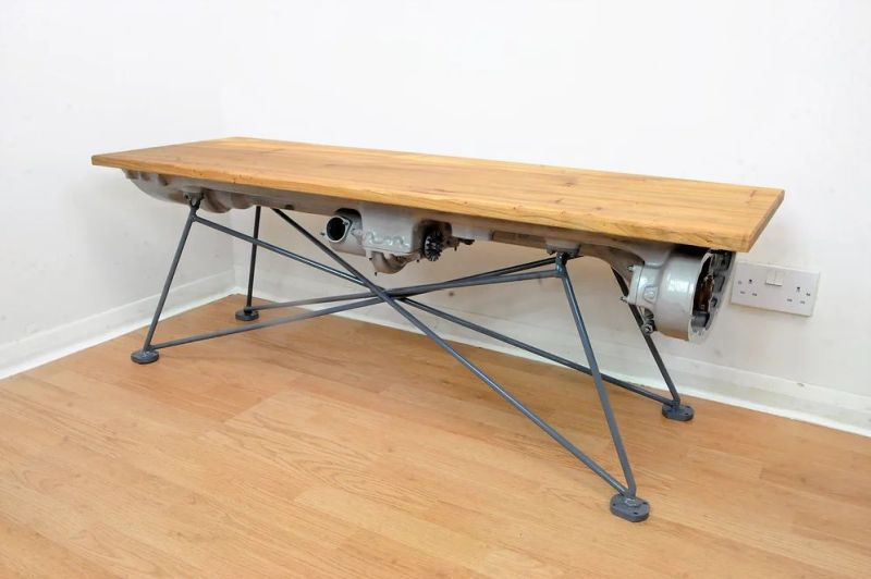 Gipsy Queen Coffee Table by DappR Aviation