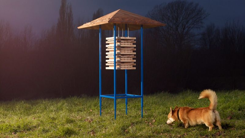 IKEA Upcycles Furniture into Habitats for Wildlife in Sutcliffe Park