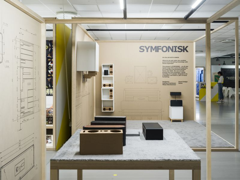 IKEA and Sonos to Exhibit SYMFONISK Speaker at Salone 2019