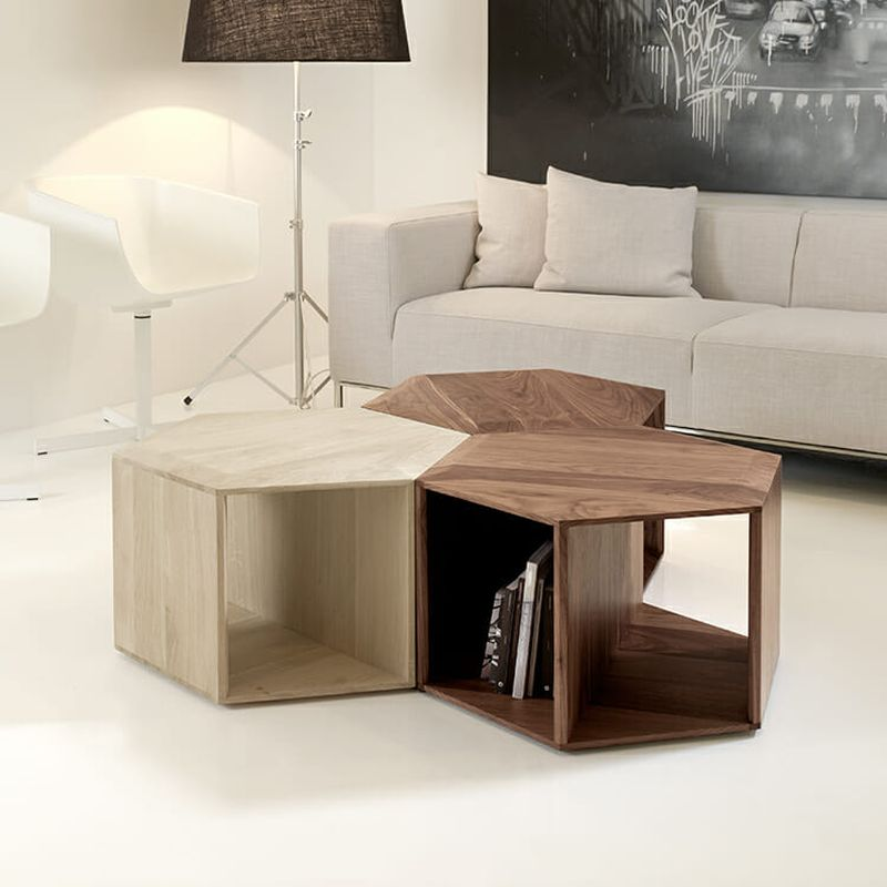 Modular tables for small space