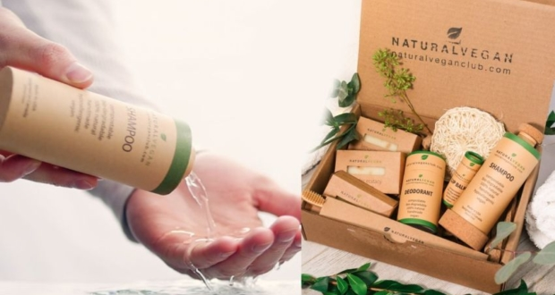Natural Vegan Introduces Compostable Liquid-Holding Paper Bottle