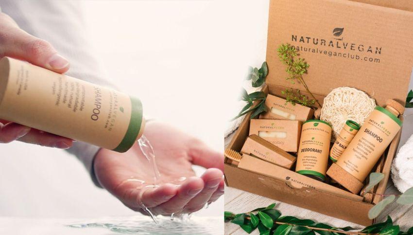 Natural Vegan Introduces Compostable Liquid-Holding Paper Bottle