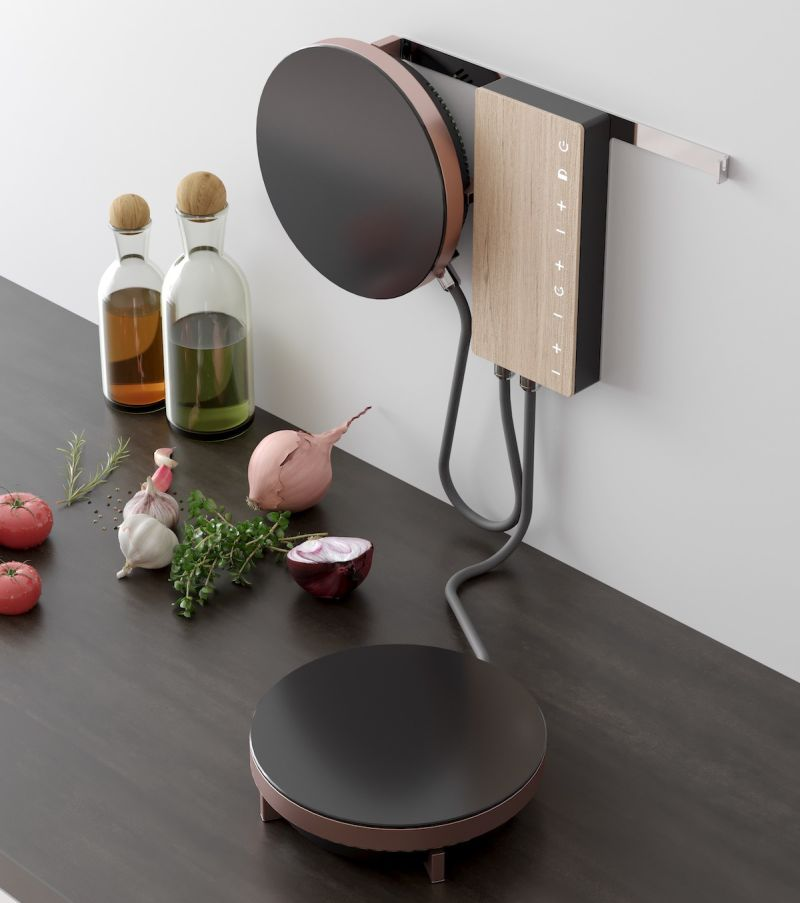 Ordine Induction Cooktop by Adriano Design for Fabita