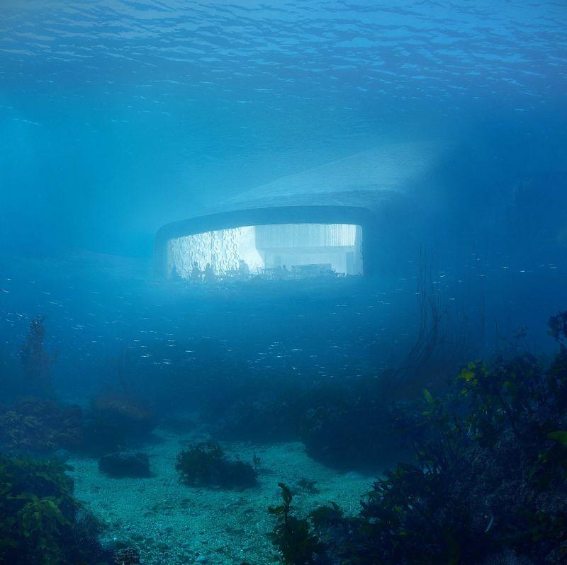 Snøhetta-Designed Underwater Restaurant in Norway Now Open to Guests