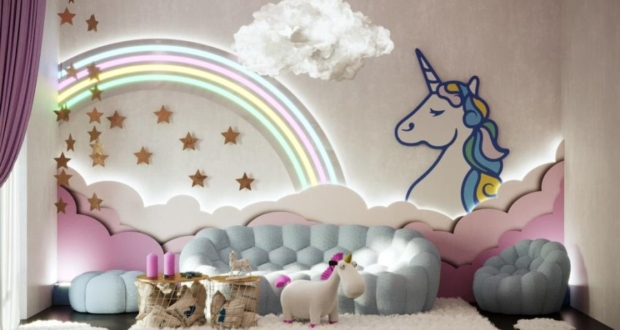 Unicorn-Themed Room Décor from Milan Design Week 2019
