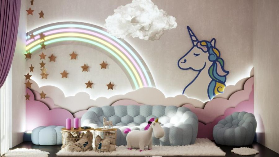 Unicorn Themed Room Decor From Milan Design Week 2019