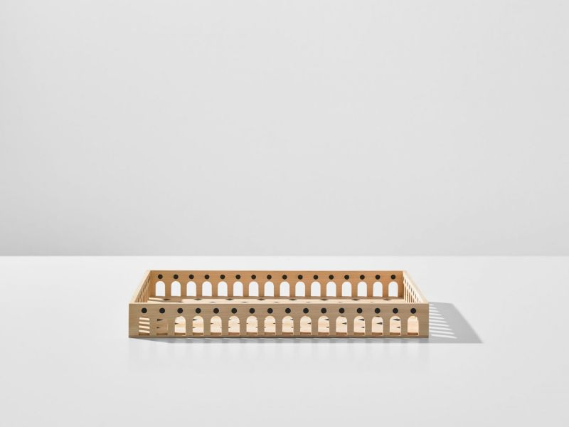 Wooden Tableware Collection by Mad Lab