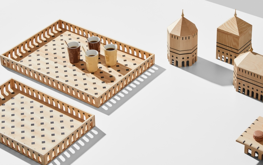 Wooden Tableware Collection by Mad Labs