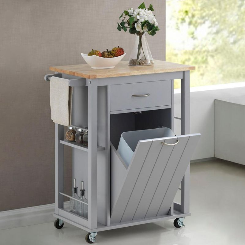 wheeled kitchen trolley for small space