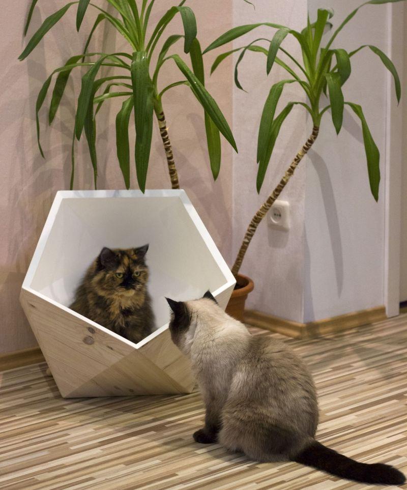 Catissa Geobed Designer Cat Beds