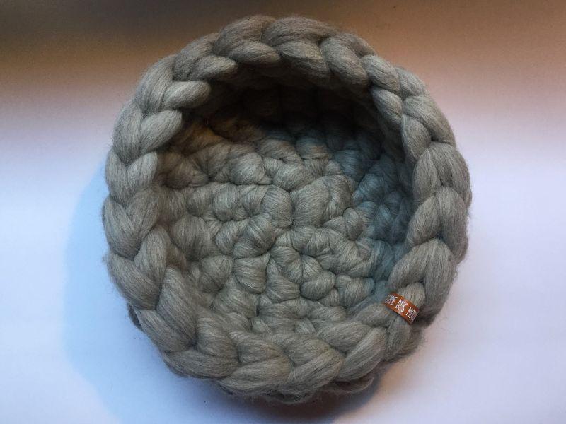 Crocheted Wool Designer Cat Beds