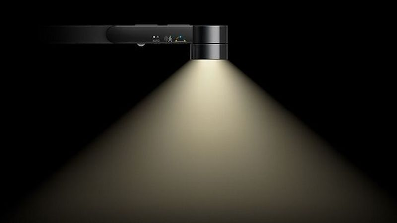 Dyson Lightcycle Task Light Personalizes Light Intensity with Local Daylight