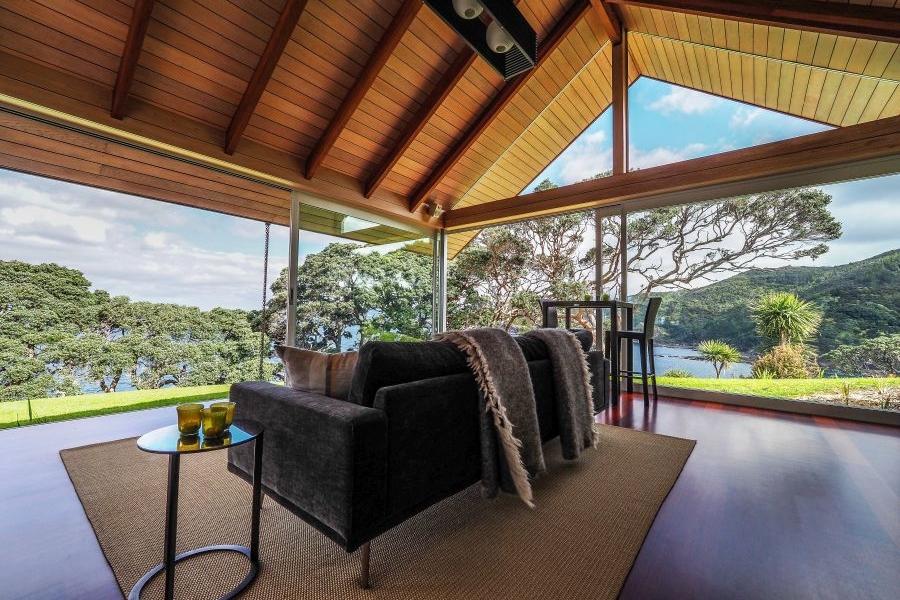 Glass house rental in Whangarei, New Zealand