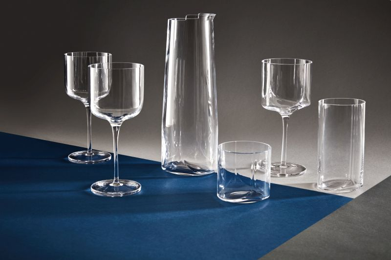 Hew Glassware by Zaha Hadid Design