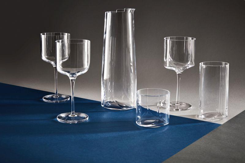 Hew Glassware by Zaha Hadid Design