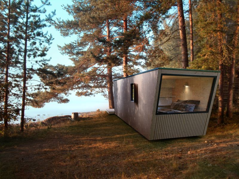 In-Tenta's Prefab Modular Hotel Suites can be Installed Anywhere