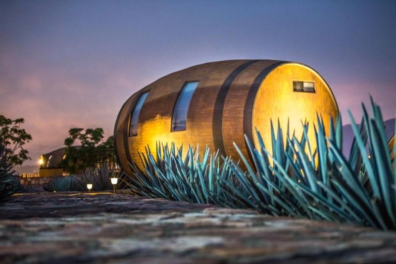 This Barrel-Shaped Hotel in Mexico can be Rented for Night Stay