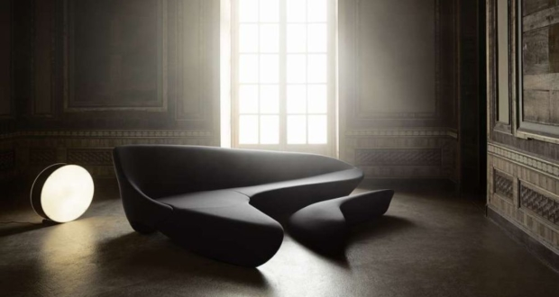 Moon Sofa by Zaha Hadid Design at Salone del Mobile 2019