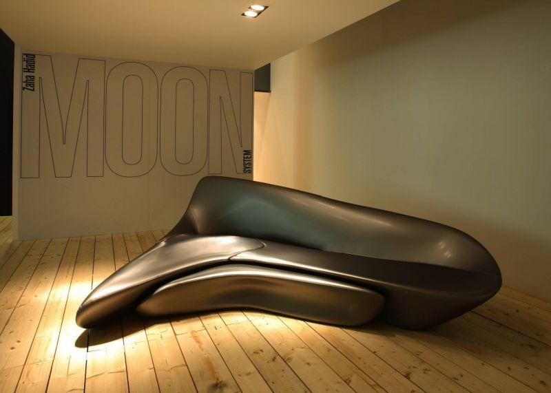 Moon Sofa by Zaha Hadid Design at Salone del Mobile 2019