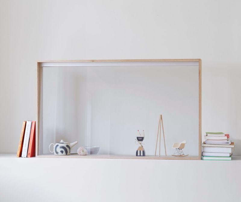Panasonic Introduces Vitrine Transparent OLED TV Concept at Salone 2019