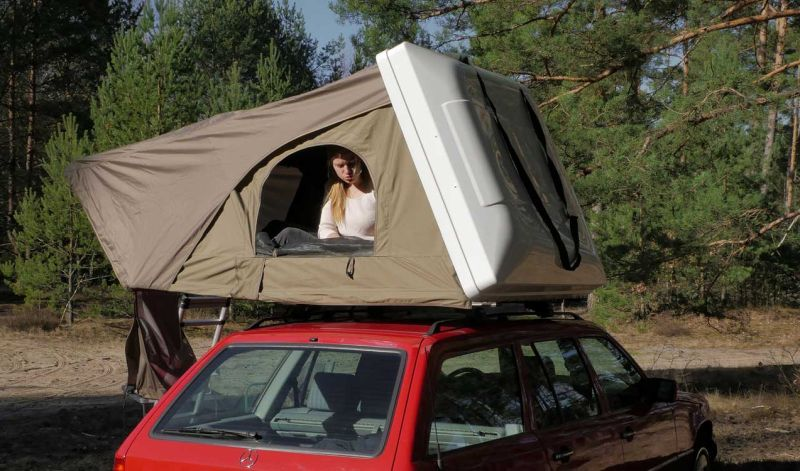 Panorama Rooftop Tent Fits Almost on Every Car